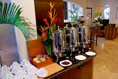 Hotel Casa Veranda coffee station